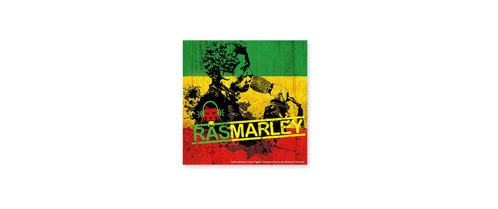 CD-Cover Ras Marley