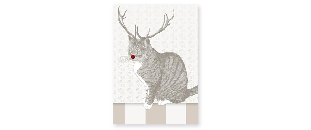 Motiv Weihnachtskarte Atelier deVincent  2012