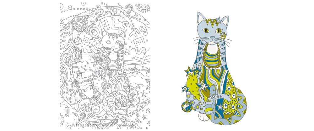 Motiv Weihnachtskarte Atelier deVincent  2016